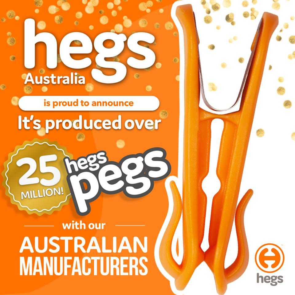 25 million hegs pegs